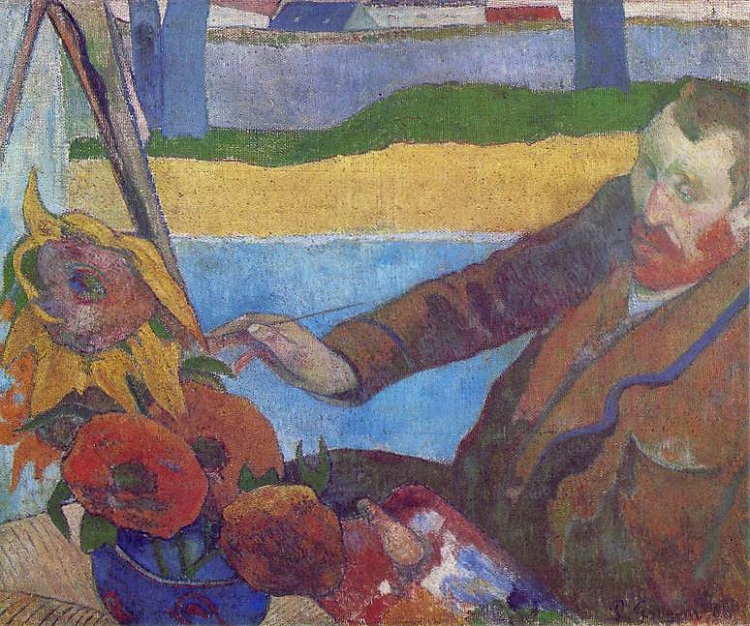 The Painter of Sunflowers by Paul Gauguin